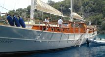 yacht charter in Turkey-master